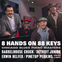 8 Hands on 88 Keys - Blues Piano Masters